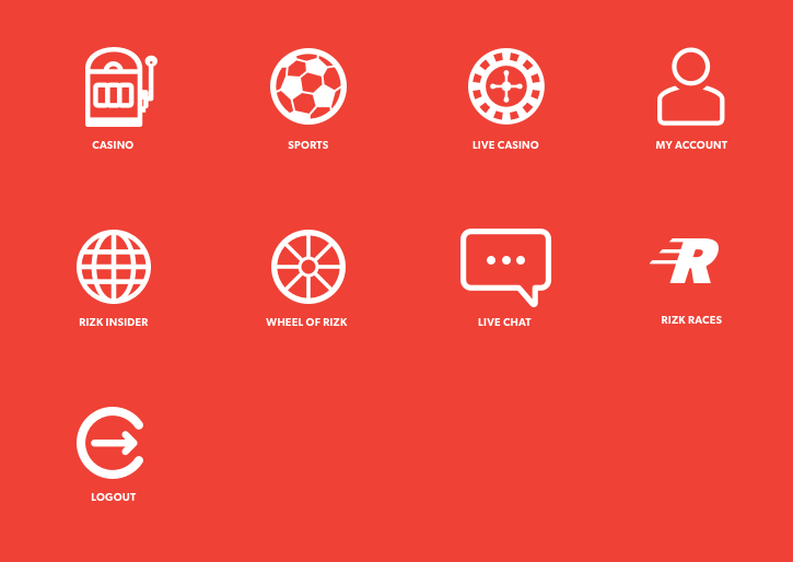 Rizk Product Icons design